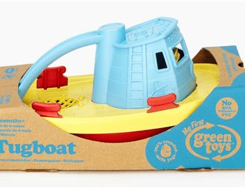 Sleepboot – gerecycled – Green toys