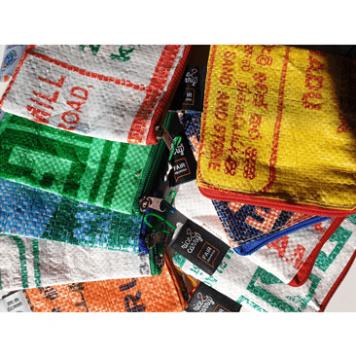 Zeep Reiszakje – Recycled Rijstzak