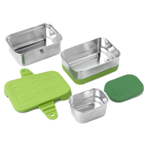 Duurzame lunchbox – 3 in 1 – Blue Water Bento